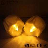 Buy cheap Yellow Flickering Timing Flameless LED Tea Light Candles with Timer product