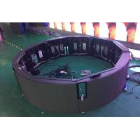 Quality P2.5 SMD1616 Full Color Indoor LED Video Wall , Led Circle Display System for sale