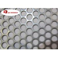 Buy cheap Beauty Round Hole Shape Perforated Metal Mesh Galvanized 5-10mm Diameter product