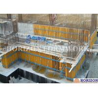 Quality High Efficiency Wall Formwork Systems , Core Wall Formwork With Push Pull Props for sale