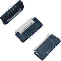 Buy cheap 1.0 mm Pitch FPC Connector 4 Pins H 1.5mm Up Contact ZIF Type Soldering product