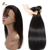 Buy cheap Ladys Hair Extensions Straight Hair Weft with 360 Lace Closure 9A  8 Inches  --  32 Inches from wholesalers