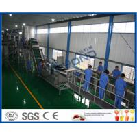 Buy cheap 65 - 72 Brix Machine Fruit Juice Apple Processing Line With Self CIP System product