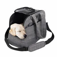 Buy cheap Polyester / Canvas Puppy Airline Carrier Bag , Soft Sided Dog Crates Airline Approved product
