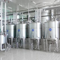 Buy cheap 200TPD Sterilization  Uht Dairy Product Machine ForFresh Cow Milk product