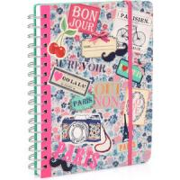 Buy cheap Customized Paper Note books,Kraft spiral notebook,Leather Cover Paper Notebook product