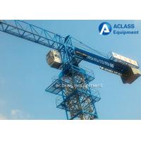 Buy cheap QTP5010 Flat Head  5t Mobile Tower Crane Including Counterweight product