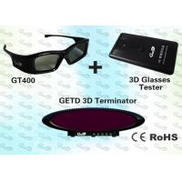 Buy cheap 3D vision IR emitter and glasses for 3D Home Theater product