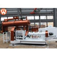 Buy cheap Grass Carp Floating Fish Feed Pellet Machine , Wet Steam Fish Feed Manufacturing Plant product