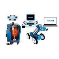 Buy cheap Easy Operated CCTV Robot Camera , Sewer Pipe Inspection Robot With Pan & Tilt Camera product