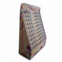 Buy cheap Cardboard Display with Four-color Offset Printing, Measures 19.6 x 14.6 x 55.2 Inches product