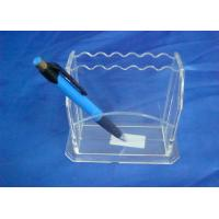 Buy cheap Hard Clear 3mm Acrylic Stationery Holder LightweightWith Notes Box product