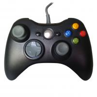Quality Solid Black XBOX One Gamepad , Vibration Wired Game Controller for sale