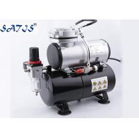 Buy cheap 3.0l Air Tank 1/6hp Power Mini Air Compressor For Airbrush Painting Decoration product