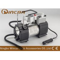 Buy cheap Metal Hand Held Air Compressor Tyre Inflator Air Pump with Light / Digital Gauge product