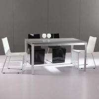 Buy cheap Dining Table with MDF and High-glossy and High-quality Painting product
