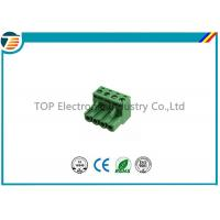 Buy cheap 4 Pin Electrical Terminal Block Connectors 4POS STR 5.08MM OSTTJ045153 product