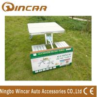 Buy cheap Aluminum Outdoor Camping Tables / Four Person Folding Dining Table product