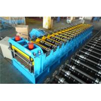 Buy cheap 60KW Silo Roll Forming Machine With Protect Cover / 2 Punching Stations product
