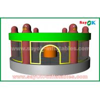 Buy cheap 2019 Funny Inflatable Human Whack A Mole Game with Air Blower for Sale from wholesalers