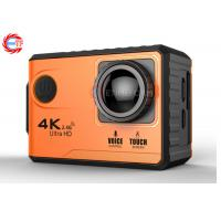 Buy cheap Voice Control EF100P Wifi 4K Action Camera 2.0 Touch Screen with Gyro and Remote, GPS Extension as option product