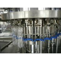 China Carbonated Soft Drink Gravity Filling Machine , Auto Soda Filling Machine 60 Head 20000BPH on sale
