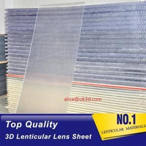 Buy cheap 3D effect / Flip effect 20 LPI 3 mm lenticular  for FLIP lenticular effect  on digital printer or UV flatbed printer product