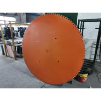 Buy cheap 1800mm 72 Inch Big Reinforced Concrete Wall Cutting Saw Depth Of Cut Up To 83cm product