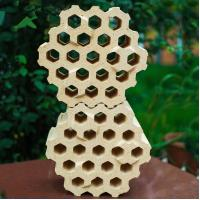 Buy cheap Glass melting furnace / hot blast stove use checker refractory bricks with holes to insulation product