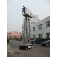 Buy cheap 10m  Four Mast Truck Mounted Lift Platform For Continuous Aerial Working product