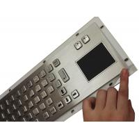 Buy cheap Rubber sealed panel mount industrial keyboard with customs Braille product