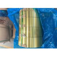 Buy cheap Epoxy Hydrophilic Gold Aluminium Foil H22 For Air Conditioner Radiator product