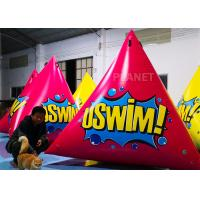 Buy cheap Triangular Inflatable Marker Buoy With D Rings Customized Size product