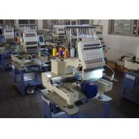 China High Speed Automatic Embroidery Machine , Multi - Languages 1 Head Embroidery Machine New on sale