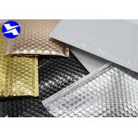 Buy cheap 6*9 Inch Metallic Bubble Mailers VMPET/CPE Material Structure Moisture Free product