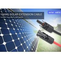 Buy cheap Flame Free MC4 Solar Cable 4mm2 High Resistance TUV Approved 1000VDC product