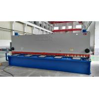 Buy cheap Electric Hydraulic Guillotine Shear Cutting Raw Material With Numeric - Control System product