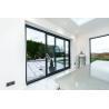 Buy cheap Interior Decorative Bedroom Aluminium Sliding Glass Doors And Window Eco - Friendly Glue product