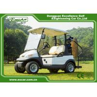 Buy cheap EXCAR 2 Seater cheap Electric Golf carts For sale Trojan battery golf buggy car from wholesalers