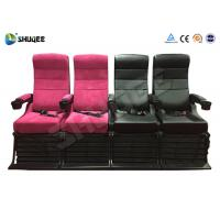 Buy cheap Electric 4D Movie Theater Motion Chair With Special Effect System 1 Year from wholesalers