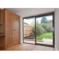 Buy cheap Exterior Metal Aluminum Sliding Doors Tempered Glass System 6A 9A 12A product