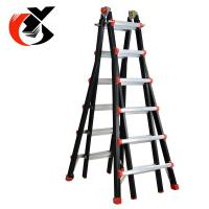 Buy cheap Multi Position Telescoping Aluminium Alloy Ladder 150KG Capacity product