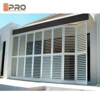 Buy cheap Outdoor Perforating Movable Aluminium Louver Window Vertical Sun Shading product