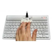 Buy cheap 4.0 Bluetooth wireless washable keyboard with 77 keys and embedded battery product