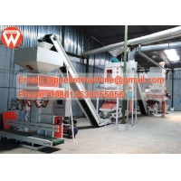 Buy cheap SZLH250 1.5-15 T/H Poultry Feed Mill Plant Chicken Feed Pellet Production Line product