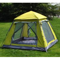 Quality Professional Various Color 4 Person Camping Tent 3.2sqm With Aluminum Pole for sale