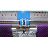China High Capacity Industrial Embroidery Machines 34 Heads 300 G/M2 Quilting Thickness on sale