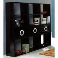 Buy cheap Glossy bookcase, made of E1 MDF product