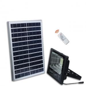Buy cheap 300 Watt High Powered Solar Flood Lights , Black 100 Watt Solar Flood Lights product