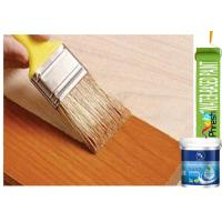 Buy cheap Colorless Water Based Exterior Wood Paint Nitrocellulose Clear Coat Eco Friendly product